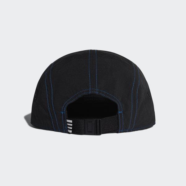 3a7d6387a6605 adidas NMD 5-Panel Cap Black   Lush Blue DH4418