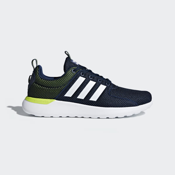 af83be855 Tenis Cloudfoam Lite Racer COLLEGIATE NAVY FTWR WHITE SOLAR YELLOW DB0591