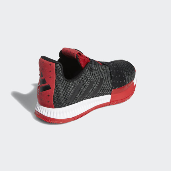 8bc9e3819bea Harden Vol. 3 Shoes Core Black   Grey   Scarlet EE9052
