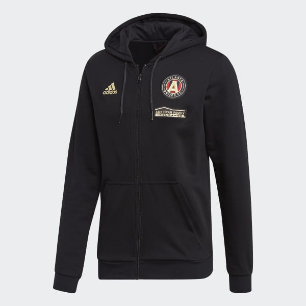 aaa008d6be adidas Atlanta United FC Travel Jacket - Black | adidas US
