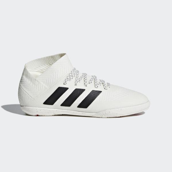 000e97718d7 Nemeziz Tango 18.3 Indoor Shoes Off White   Core Black   Active Red CM8514