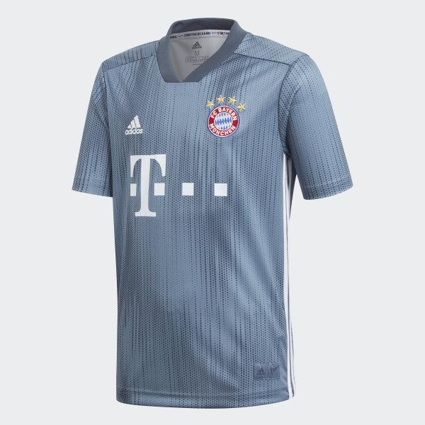 online store e88d0 045e1 adidas FC Bayern Third Jersey Youth - Blue | adidas Ireland