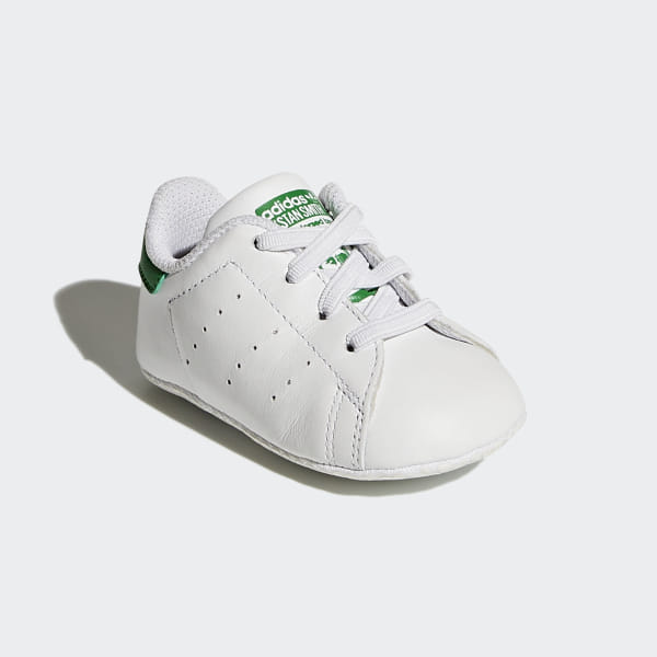 hot sale online 41761 84acc Stan Smith Shoes Cloud White   Cloud White   Green B24101