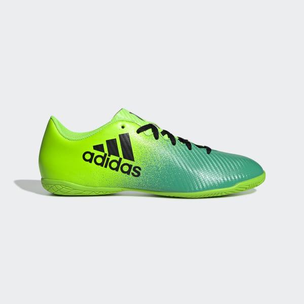 6d3cf84997d65 Chuteira X 16.4 - Futsal SOLAR GREEN/CORE BLACK/CORE GREEN BB5883