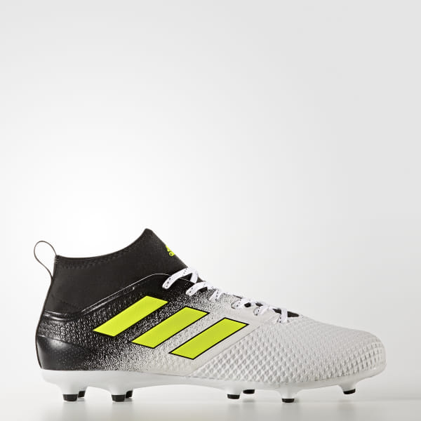 697fc73f8 adidas Men s ACE 17.3 Firm Ground Boots - White