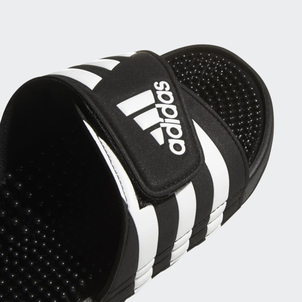 quality design 69bcf 85ae9 Adissage Slides Core Black   Cloud White   Core Black 078260
