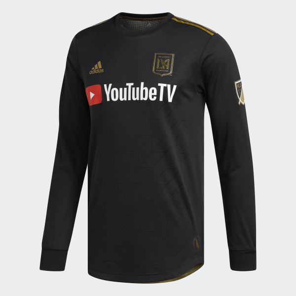 ad23ce82c13 adidas Los Angeles Football Club Home Authentic Jersey - Multicolor ...