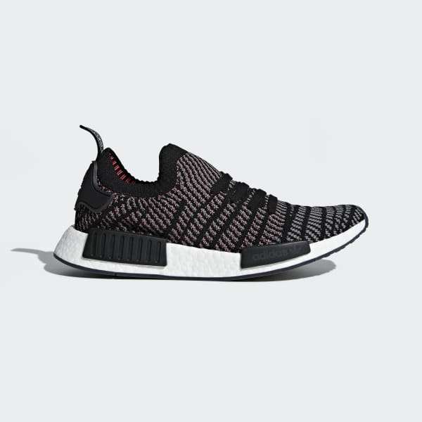 sports shoes cc101 68c46 adidas NMD_R1 STLT Primeknit Shoes - Black | adidas US