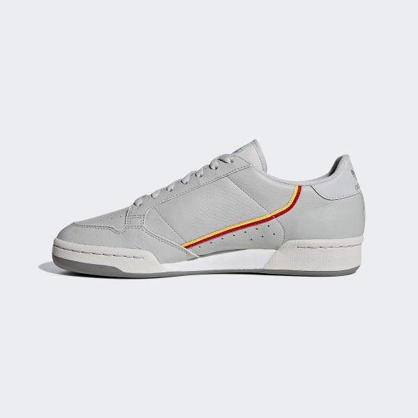6efa6b6e17b Continental 80 Shoes Grey Two / Grey One / Scarlet CG7128