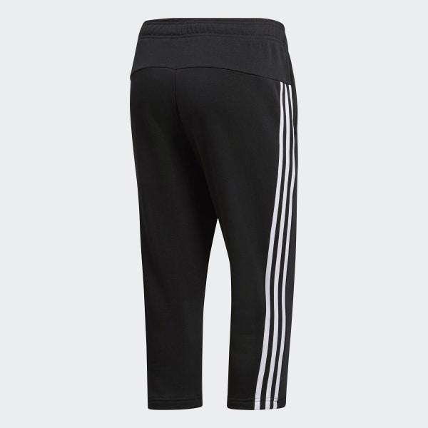 Adidas Damen 34 Hose Essentials 3 Streifen S97105 XL schwarz weiß XL