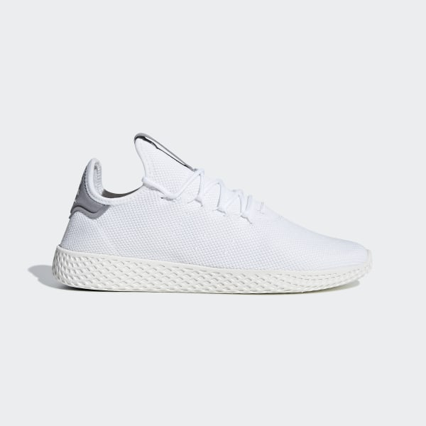 new style bfabc ae133 Pharrell Williams Tennis HU Schuh Ftwr White   Ftwr White   Chalk White  B41793