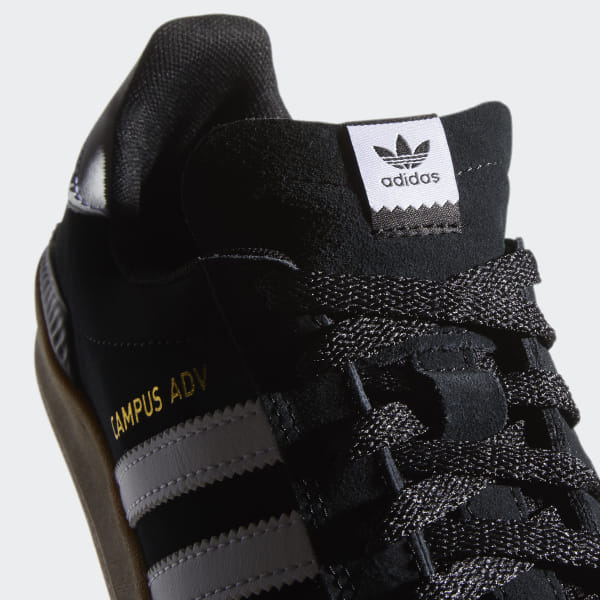 70ce7615a7e1a adidas Campus ADV Shoes - Black | adidas US