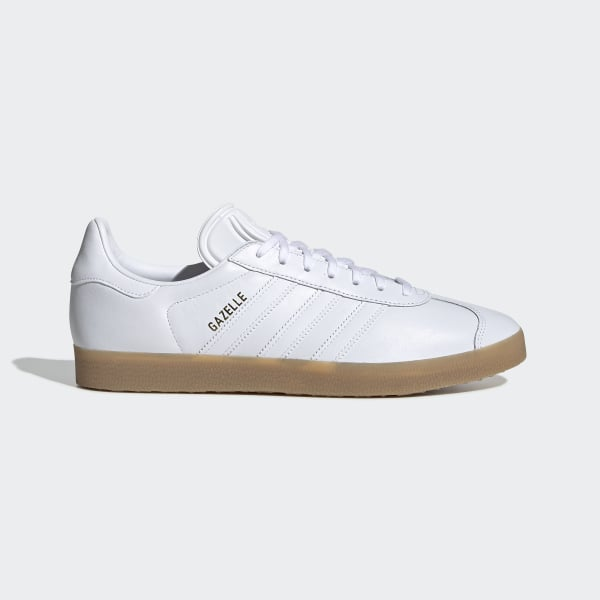 official photos 0b542 48ebd Gazelle Shoes Cloud White   Cloud White   Gum BD7479