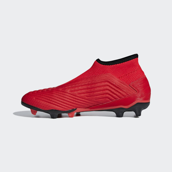 1db41cef28f4 Predator 19.3 Laceless Firm Ground Cleats Active Red / Core Black / Core  Black F99730