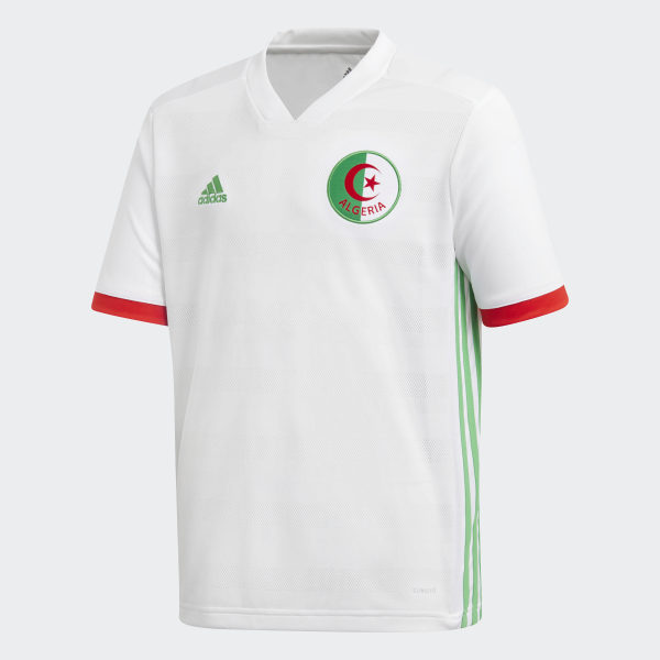 2090846ce Algeria Home Jersey White   Semi Flash Lime   Red BQ4516