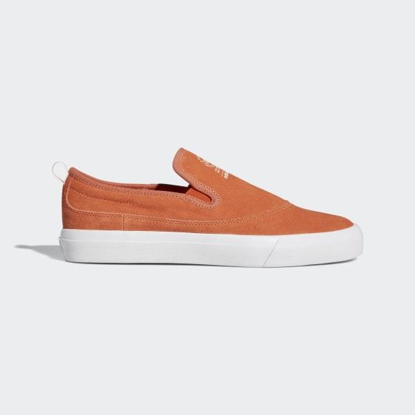 adidas Matchcourt Slip-On Shoes - Orange | adidas US