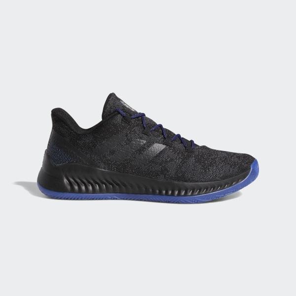 798c0353316 Harden B E X Shoes Core Black   Black Blue Met.   Active Blue F97250