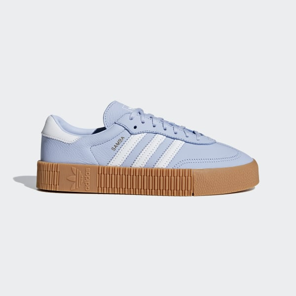 adidas SAMBAROSE Shoes - Blue | adidas UK