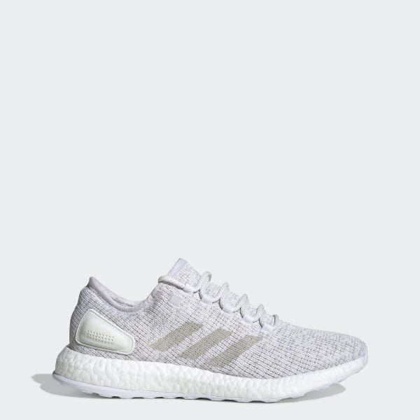 on sale 31247 2947b Chaussure PureBOOST Footwear White   Grey One   Footwear White S81991