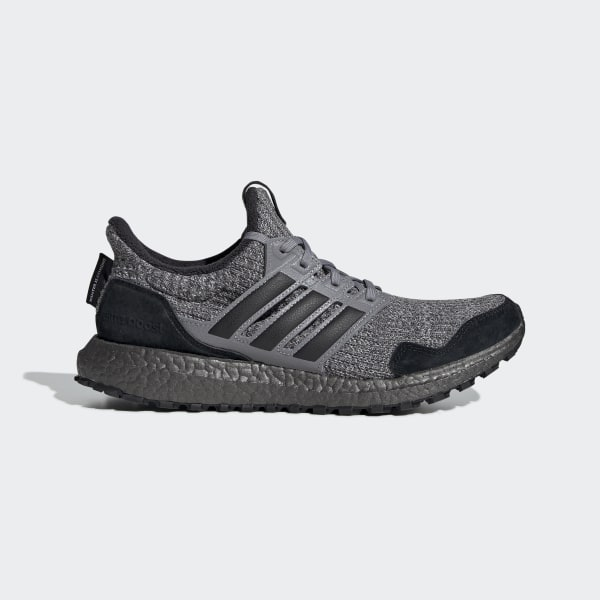 ADIDAS ULTRABOOST 4.0 X GAME OF THRONES HOUSE STARK Grey Black EE3706 Gray Size