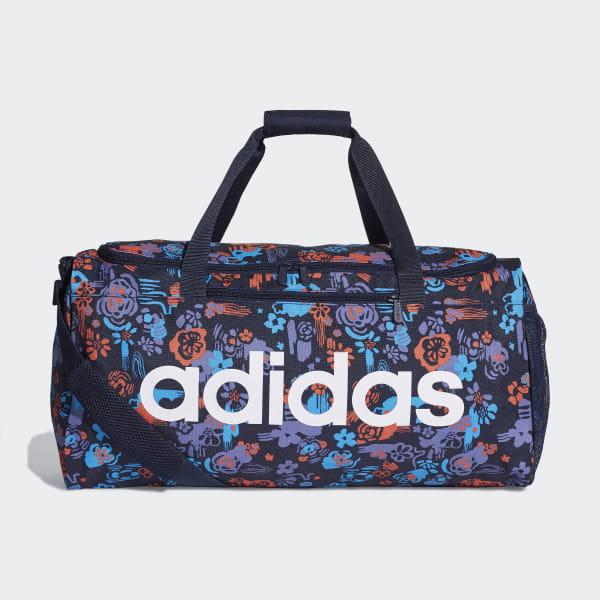 8d759c2548 adidas Linear Core Graphic Duffel Bag - Blue | adidas Canada