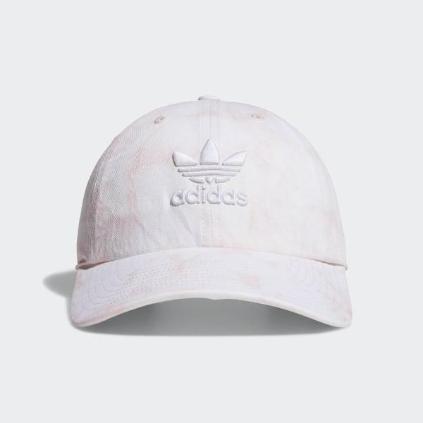 203e9d89 adidas Relaxed Tie-Dye Strap-Back Hat - Pink | adidas US