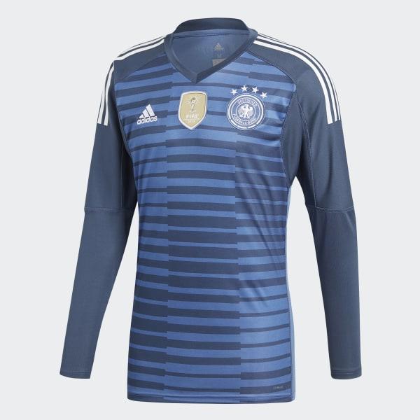 109cbce4d Germany Home Goalkeeper Jersey Trace Royal   Sub Blue   White BR7831