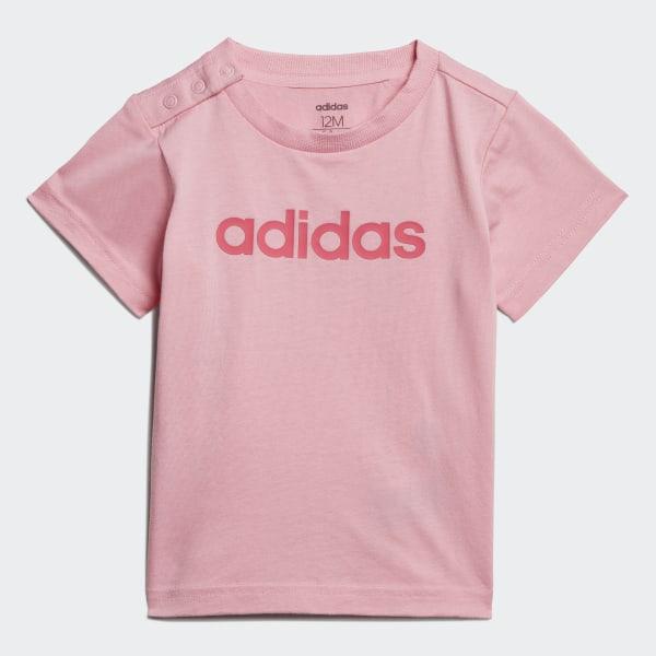 16a7d80415 Camiseta I Lin light pink/REAL PINK S18 EI7918