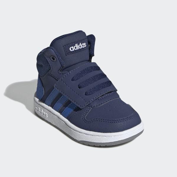 Adidas Hoops 2.0 sneakers donkerblauw