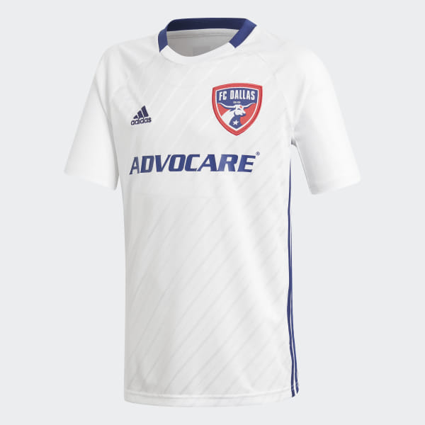 finest selection 3c598 c49b7 adidas FC Dallas Away Jersey - White | adidas US