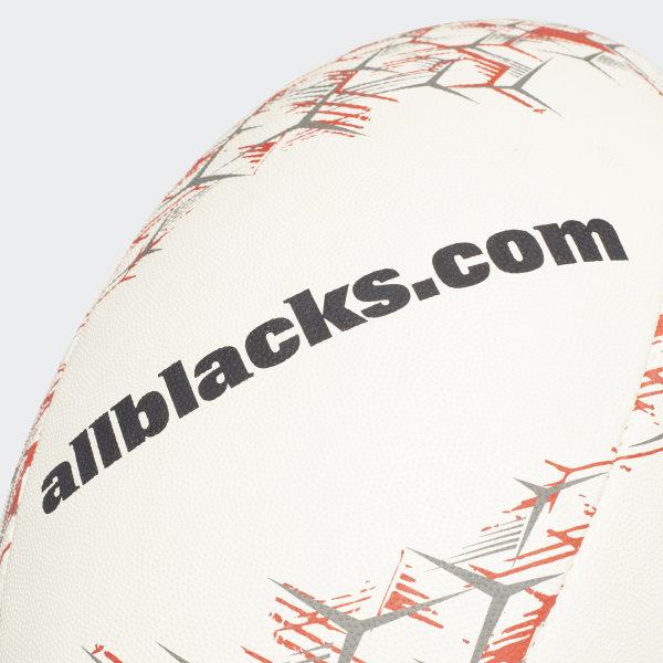68567e781 All Blacks Replica Rugby Ball White / Black / Solar Red / Chalk Solid Grey  CF6475
