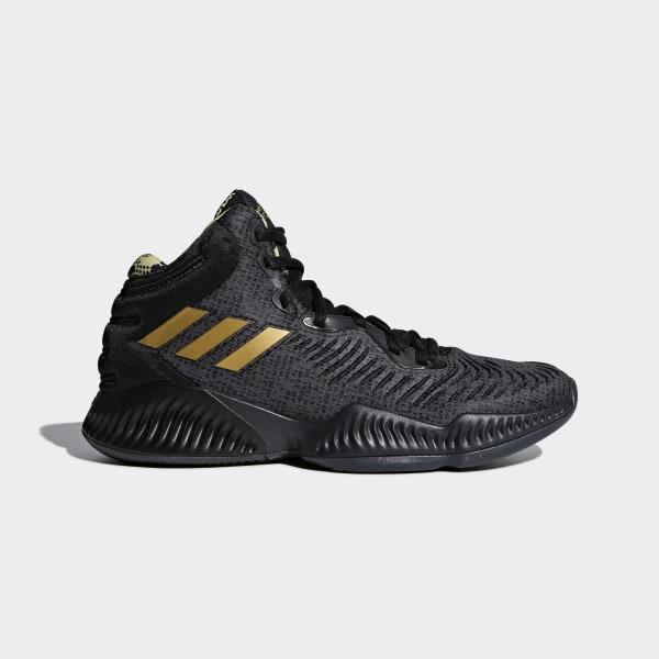 finest selection affd7 fa6be Chaussure Mad Bounce 2018 Core Black   Gold Met.   Carbon B41870