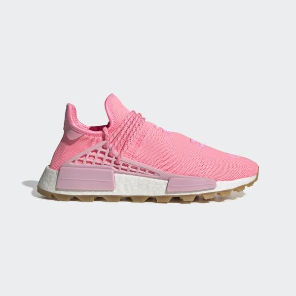 sale retailer 8f152 639af adidas Pharrell Williams Hu NMD Proud Shoes - Pink   adidas UK