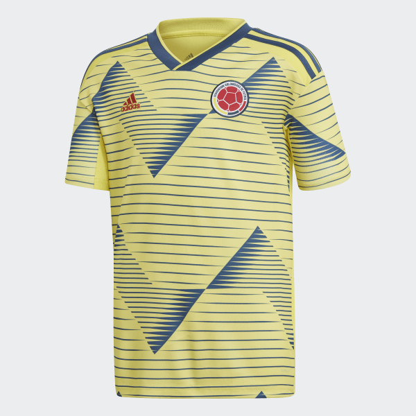 e16bc336042 Colombia Home Jersey Light Yellow   Night Marine DN6621