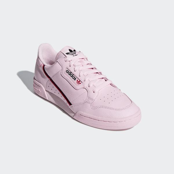 Adidas Continental 80 clear pinkscarletcollegiate navy ab