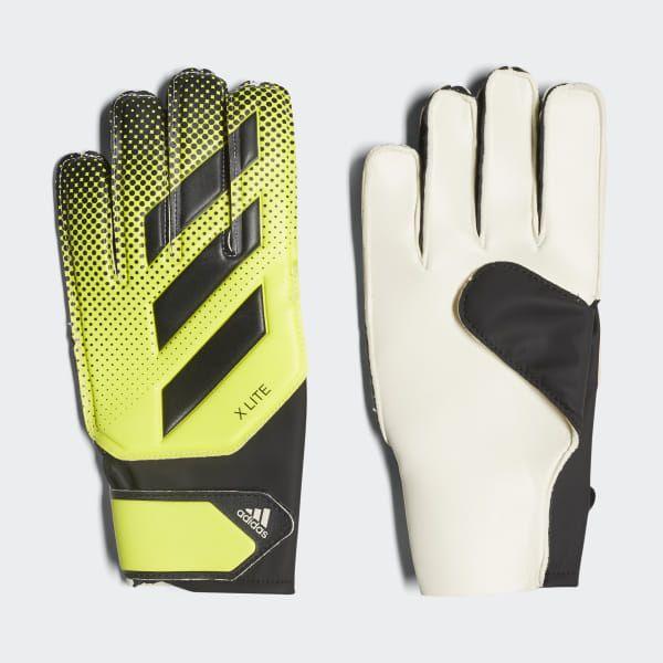 1895c25da4 adidas X Lite Goalkeeper Gloves - Yellow | adidas UK
