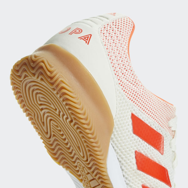 74ffd7166 Copa 19.3 Indoor Sala Shoes Off White   Solar Red   Gum M1 D98065