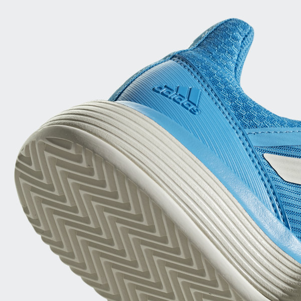 competitive price ab60d 1b61f CourtJam Bounce Clay Shoes Shock Cyan   Raw White   Ftwr White CG6365