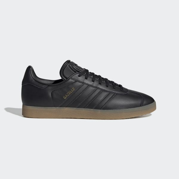 17da336d Gazelle Shoes Core Black / Core Black / Gum BD7480