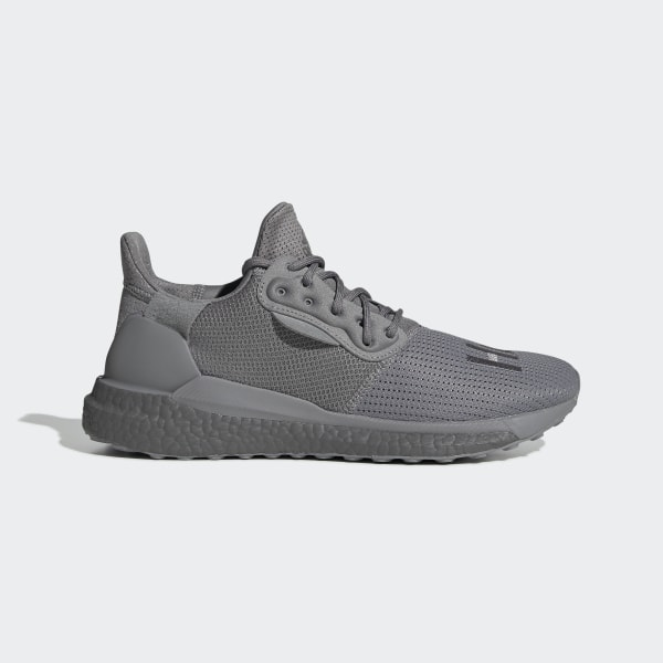 new concept 9a05e 0f025 adidas Pharrell Williams x adidas Solar Hu PRD Shoes - Grey | adidas UK
