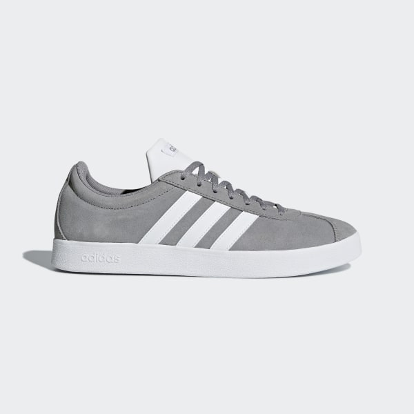f2bf91c7532 VL Court 2.0 Shoes Grey Three / Cloud White / Cloud White B43807