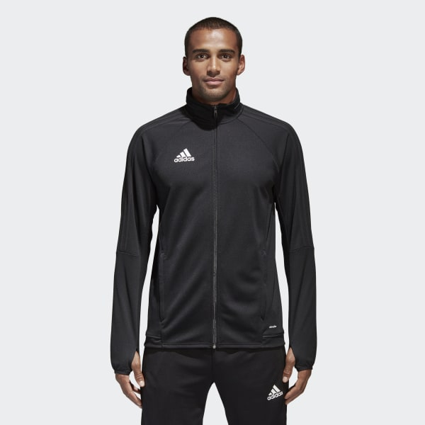 18c9a923310 adidas Tiro 17 Training Jacket - Black | adidas Australia