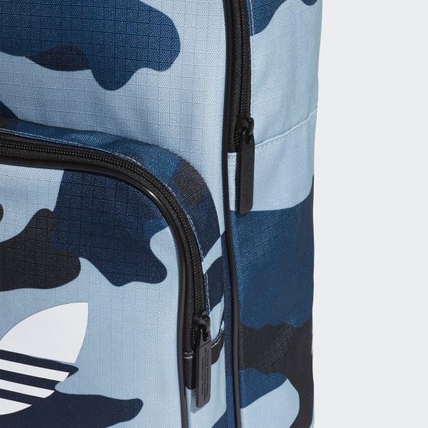 333ac650e9ff4 adidas Plecak Classic Camouflage - niebieski | adidas Poland