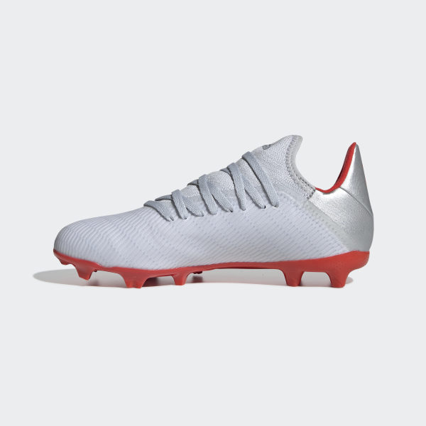 e617fe559af328 Chaussure X 19.3 Terrain souple Silver Met. / Hi-Res Red / Ftwr White