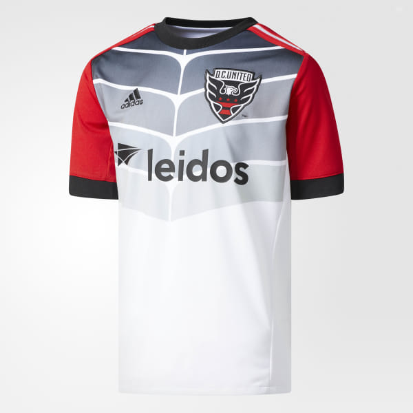 a76cd168f8 adidas DC United Away Jersey - White | adidas US