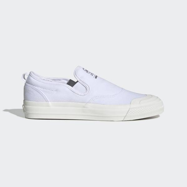 Chaussure Nizza RF Slip on Blanc adidas   adidas France