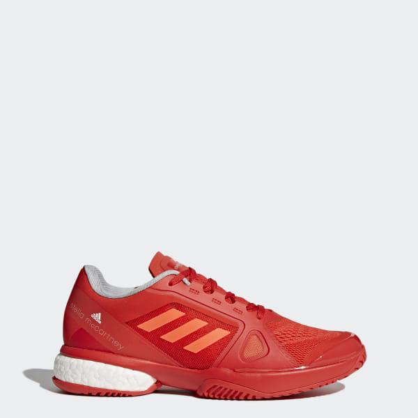 adidas by Stella McCartney Barricade Boost 2017 Shoes Red | adidas US