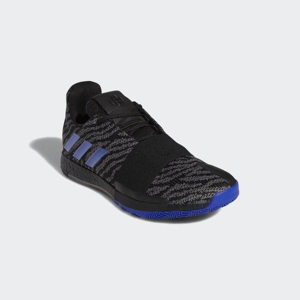 3e1d58b0922d Harden Vol. 3 Shoes Core Black   Active Blue   Dgh Solid Grey G26811