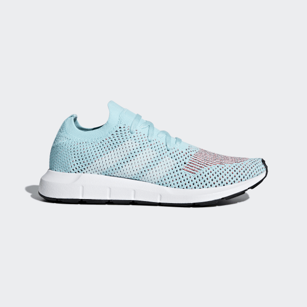 168b51bf337 Swift Run Primeknit Shoes Clear Aqua / Cloud White / Core Black CQ2034