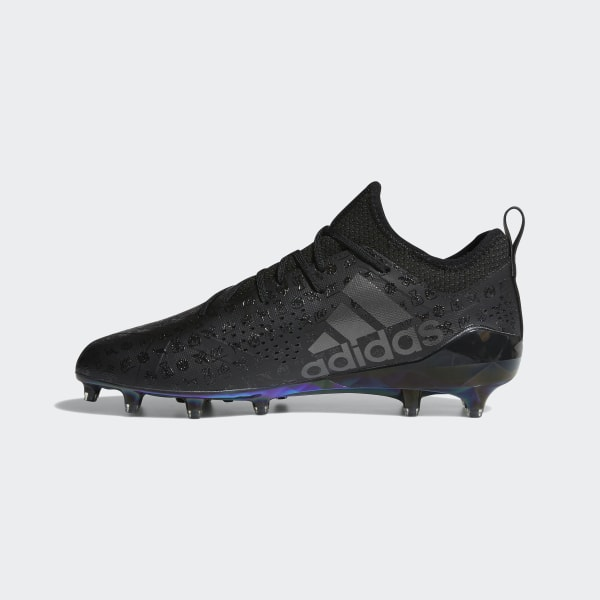 3ba0b9b98ce Adizero 5-Star 7.0 Adimoji Cleats Core Black   Night Metallic   Core Black  CG6327